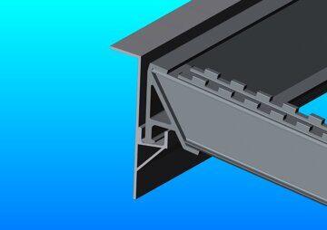 Установленный зацеп балка 140 мм